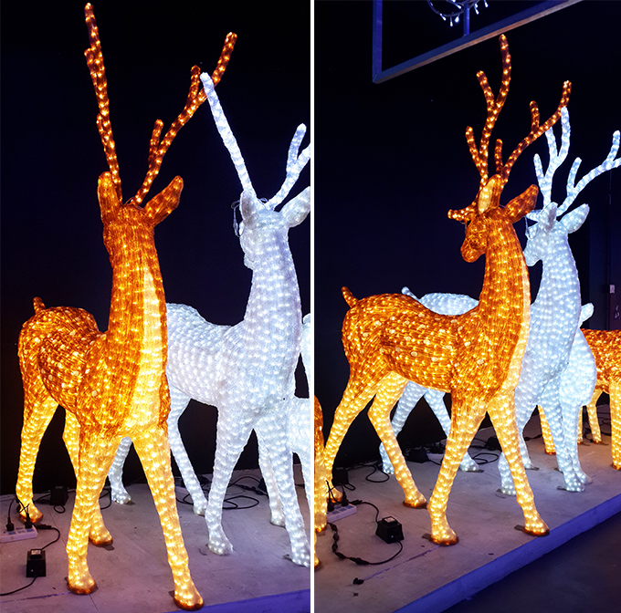 3D Christmas decoration reindeer christmas crafts
