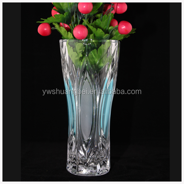 Thicken Clear Glass Vase Flower Arrangement For Simple Home