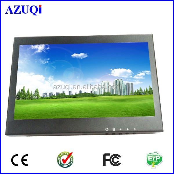 promotion for 7 inch led mini size widescreen cctv monitor