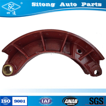 Auto Chassis Parts Oil Brake Shoes Factory with Brake Lining