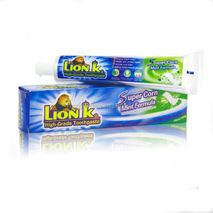 100ml Lionk band super teeth whitening anticavity halal toothpaste