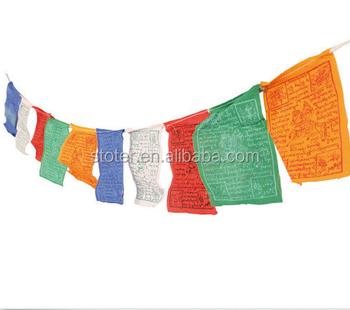 PRAYER FLAGS STRING Buddhist Buddhism Flag