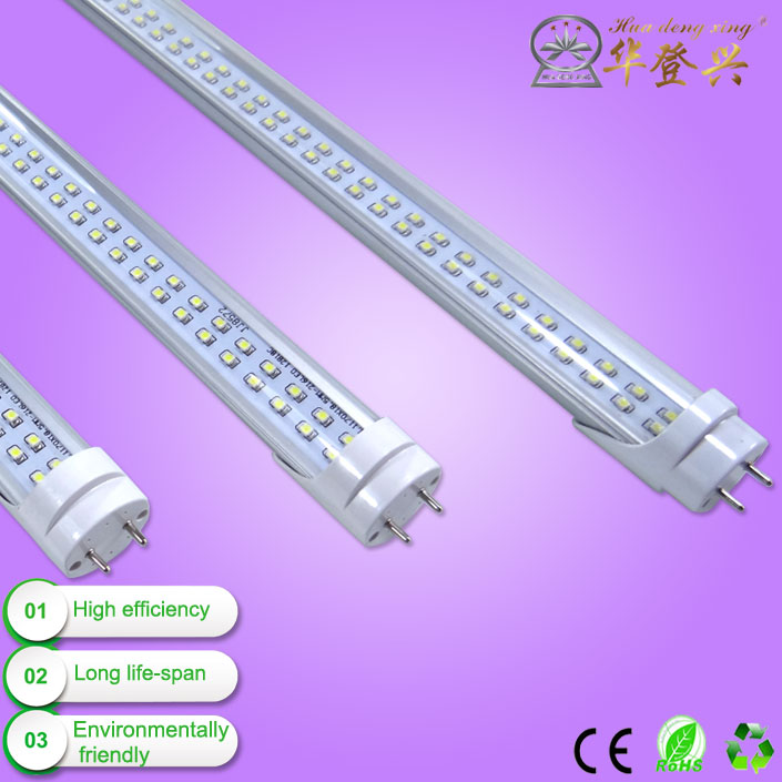 t8 18w led tube t8 led tube pc cover