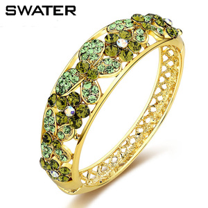 Wholesale Fancy Bracelet 14k Gold Plated Jewelry Lakh lac Bangles in Brass