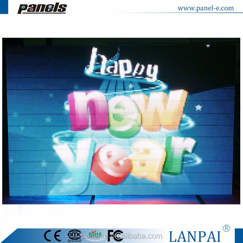 programmed large led screen full color outdoor video p10 led display