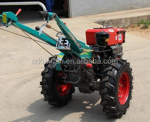 China mini diesel good quality 8HP 10HP farm walking tractor electric farm tractor