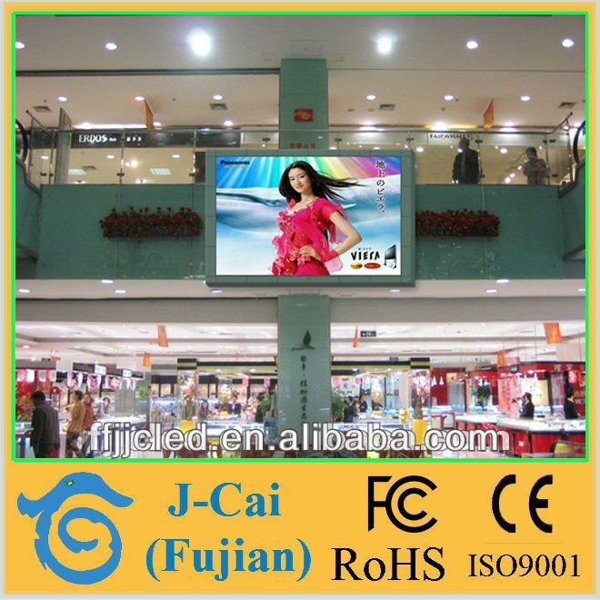 J-cai rgb led board advertising SMD mobile video wall indoor full color P6 led display