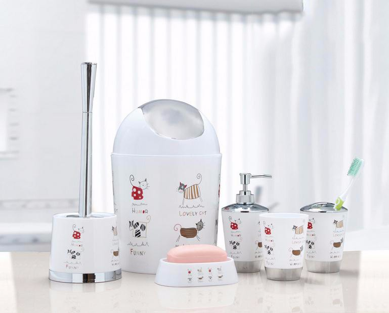 High quality bathroom set plastic hotel balfour bathroom for Good quality bathroom accessories