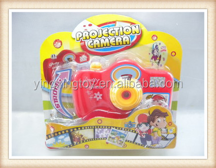 hot sell plastic picture viewer toy camera with flash