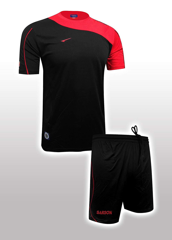 3f0fe71df20 Buy Sarson USA Bonn Custom Soccer Jersey NAVY/WHITE AL in Cheap ...