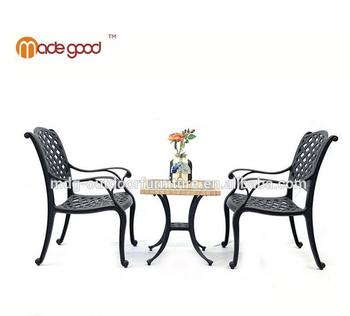 Cast Aluminum Outdoor Furniture Garden Set Sofa And Tea Table