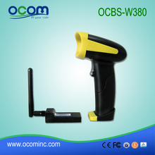 OCBS-W380---China long distance 1d laser barcode scanner wireless