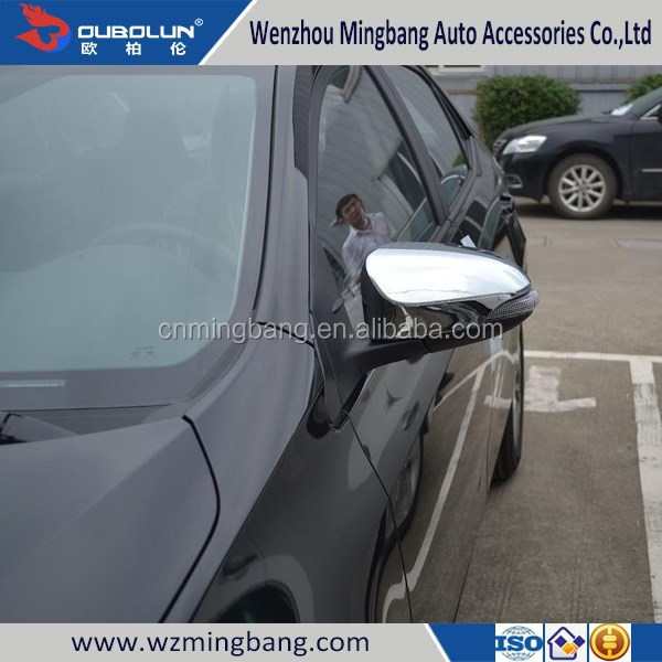 HOT SELL! for 2014 Toyota Corolla ABS Chrome Mirror Cover Mirror Cover Trim