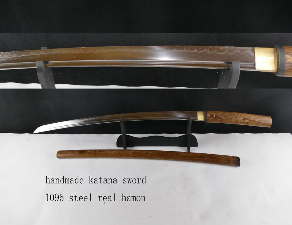 1095 Steel Clay Tempered Real Hamon Handmade Katana Ninja Sword Hk159 - Buy  Katana Sword Sale,Handmade Katana,Ninja Sword Product on Alibaba com