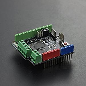 Venel Electronic Component,Stepper Motor Driver Shield For Arduino,Drive Capability up to 2A Motor Current,Highest Voltage up to 40V DC,Standard SPI and STEP/DIR Interfaces Simplify Communication.