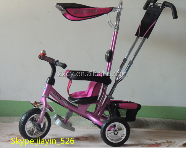Hot sale kids lexus tricycle /kids pedal trike/children tricycle for 2 year olds