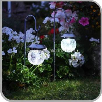 Hanging Solar Le Globe Light With Hook Jl 2635