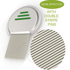 stainless steel lice comb the best lice treatment goes deep to remove even the tiniest lice eggs/nits nit comb
