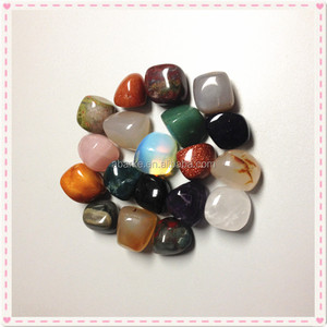mix gemstone tumbled stones natural polished healing tumbled stone