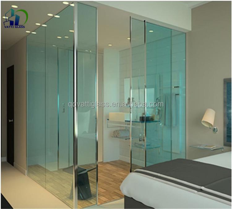 exterior pared de vidrio templado paredes de vidrio templado claro tabique de vidrio para el