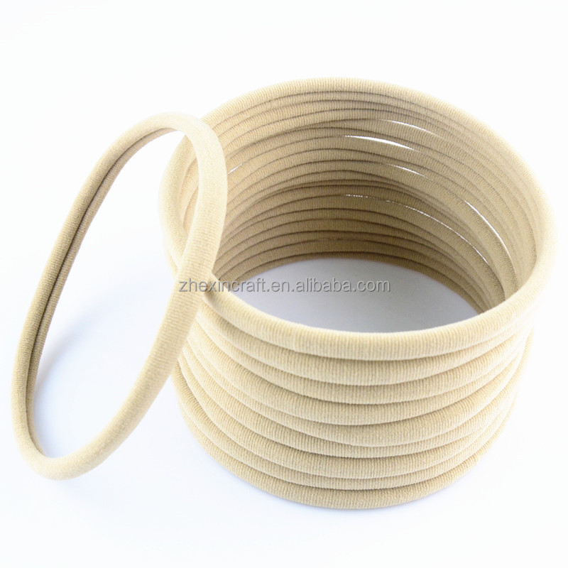 Nylon Elastic spandex <strong>Headbands</strong> Color Nude 30-34cm