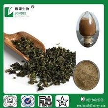 China Yunan pure and natural Oolong tea extract with polyphenols 10-95%
