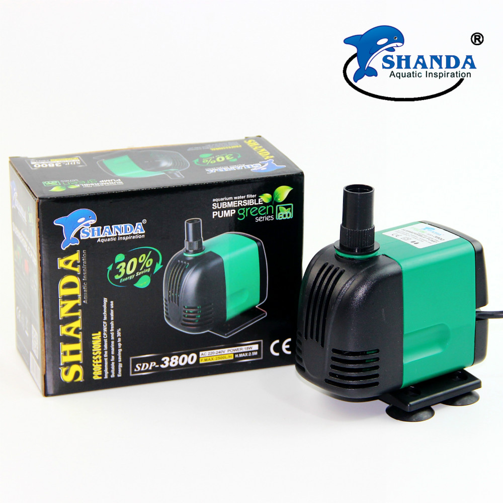 SHANDA Aquarium water pump Submersible water pump