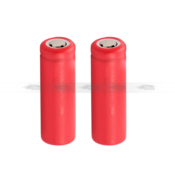 Sanyo UR14430P 700mAh battery Lithium ion rechargeable battery flat top hot selling for electronic cigarette (1pc)