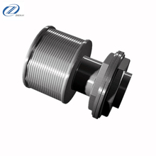 Wedge Wire Strainer Filter Nozzle/ Water Sand Control Welded Screen