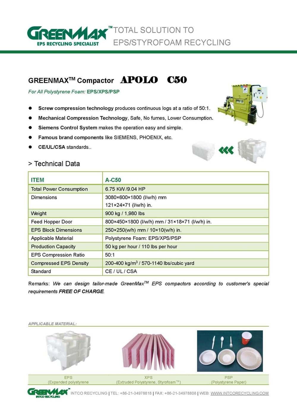 Greenmax a c50 kleine polystyreen schuim verpakking for Papierversnipperaar action