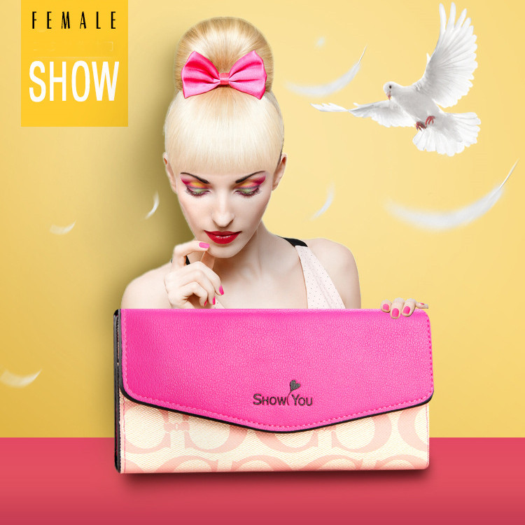 Women Wallets Brand Design High Quality Leather Wallet Female Hasp Fashion Dollar Price Alligator Long Women Wallets And Purses
