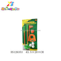 Promotion Toys Plastic mini golf toy set