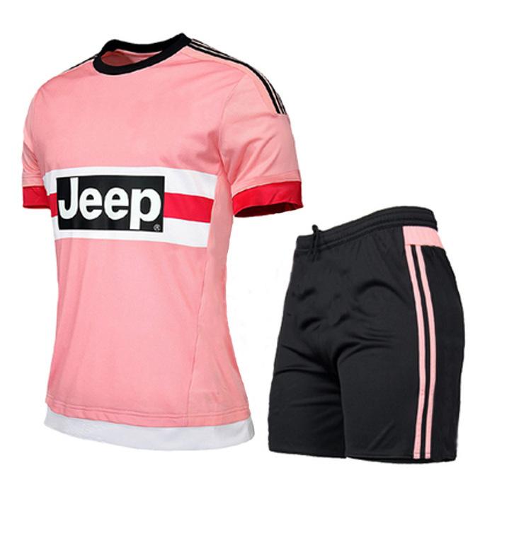 fff771030c155 2018 Venta Al Por Mayor Rosa Uniformes De Fútbol - Buy Kits De Fútbol De  Los Niños Rosa