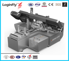 China ChenLong Brand Automatic Horizontal Band Saw Metal Cutting Machine