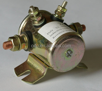 ODOELEC factory price dcstarter motor solenoid switch price 24v 12v starter relay for car