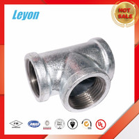 2 male 1 female brass tee elbow tee reducer pipe fitting Tee