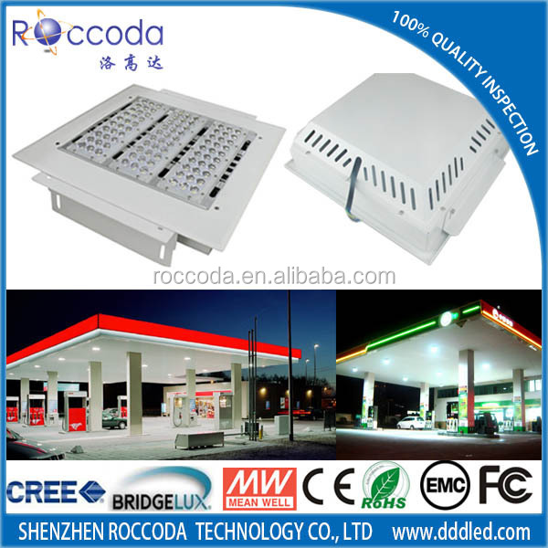 SAA LED gas station light high bay light fixtures 100w 150w 200w 250w manufacturer driver TUV CE Rohs certification