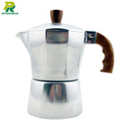 Unique Moka Stovetop Espresso Coffee Maker 1 / 2 / 3 / 6 / 9 / cups