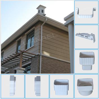 Wanael Pvc Eaves Gutters For Plastics Rainwater Piping