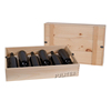 Custom High Quality Pinewood 6 Bottles Wood Wine Box Wine Packaging Box