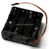 3*aa Round Battery Holder