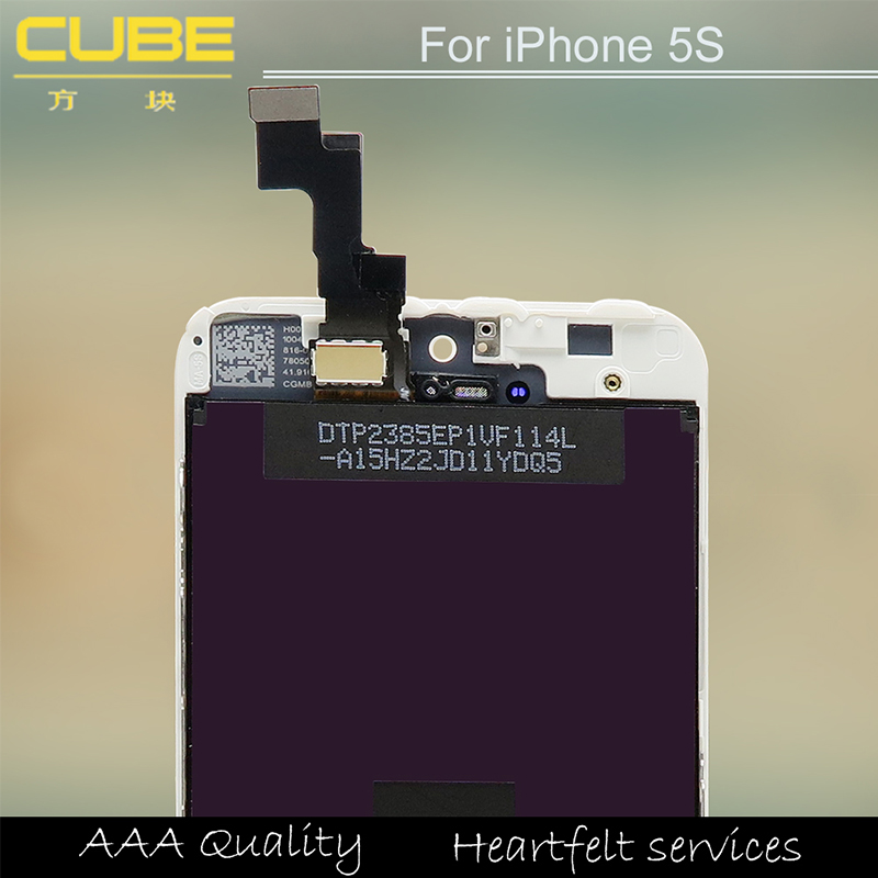 Best Wholesale Mobile phone display LCD for iPhone 5s, for iPhone 5s touch screen, for iPhone 5s LCD digitizers