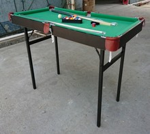 4ft <span class=keywords><strong>goedkope</strong></span> opvouwbare ijzer benen snooker pool <span class=keywords><strong>biljart</strong></span> tafel