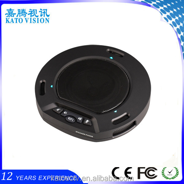 desktop conference microphone omnidirectional meeting microphone conference table microphone with USB2.0