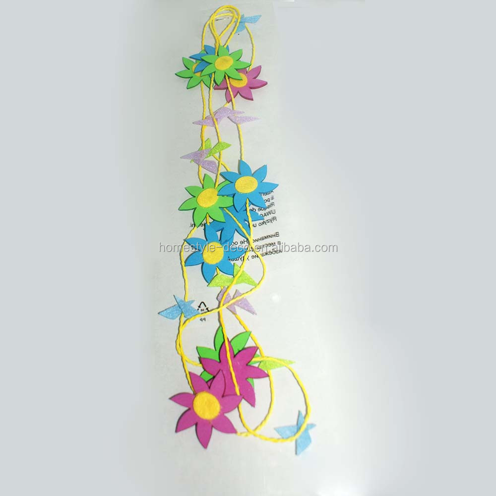 Easter ornament easter decoration 180cm artificial EVA flower garland