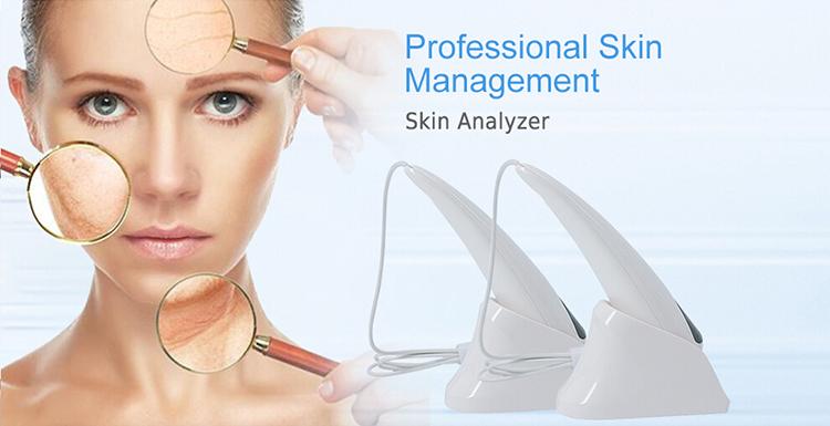 portable 3d beauty bio digital magic mirror facial skin scanner analyzer