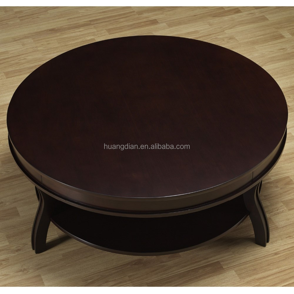 Solid wood round coffee table - Hobby Lobby Furniture Wooden Round Coffee Table With Solid Wood Legs