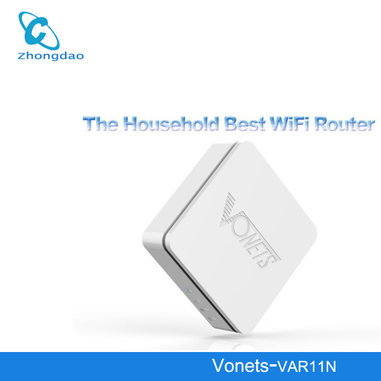 New Vonets VAR11N 3 in 1 mini WiFi Wireless Networking Router & Bridge Adapter For PC Ipad Iphone 5 Galaxy