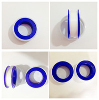 Blue and white ptfe teflone tape