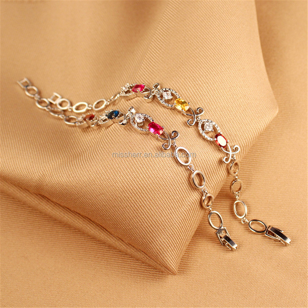 Fashion jewelry gold bracelet design for girls JD0225 View gold